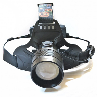 Lanterna Frontala LED 3W 3x18650 Alimentare USB MINGHUO MH634