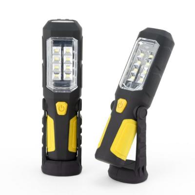 Lanterna Lampa Lucru 8+1LED 5W cu Magnet, Suport si Agatatoare FL114 FL126