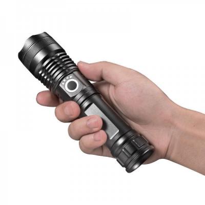 Lanterna LED 10W Zoom Inc. USB Indicator Acumulator 18650 SLJX71P50