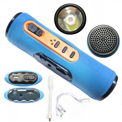 Lanterna LED 1W cu Radio, Bluetooth, SD si Incarcare USB CL501