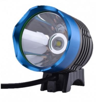 Lanterna LED 5W pentru Cap si Bicicleta cu 4 Acumulatori 18650