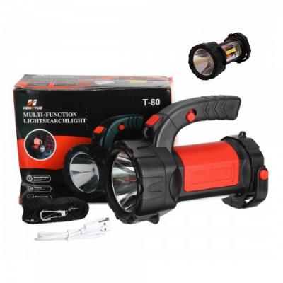 Lanterna LED cu Acumulator Reincarcabila la USB 10W T80