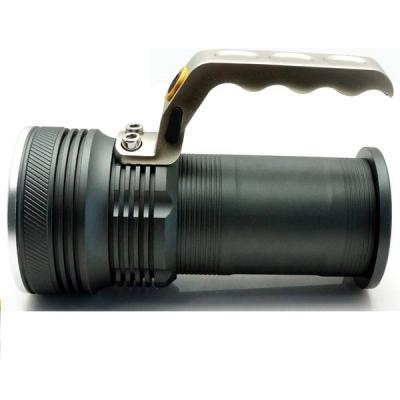 Lanterna LED Profesionala 3W cu Zoom, Maner, Acumulatori 2x18650 BLK8