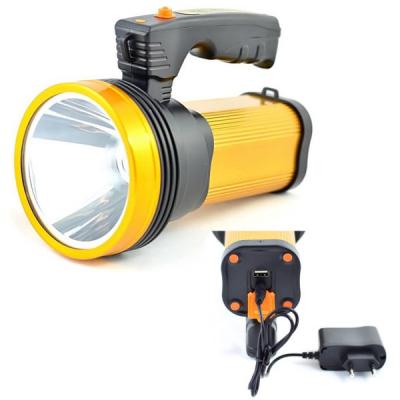 Lanterna Profesionala LED cu Acumulator si slot USB TDT8-30W