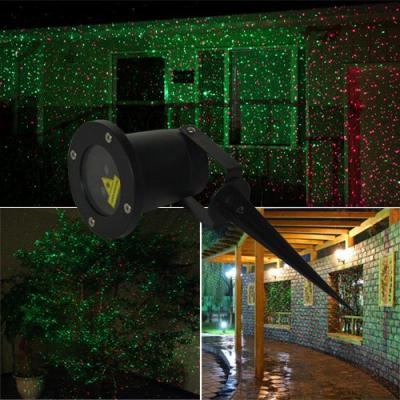 Laser Gradina Exterior tip Star Shower Rosu Verde Telecomanda si Timer