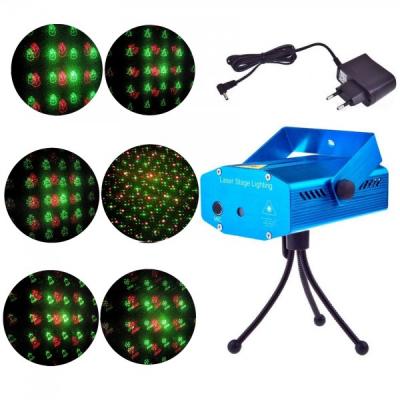 Laser Proiector Figurine Craciun Jocuri de Lumini Rosu Verde YX6I