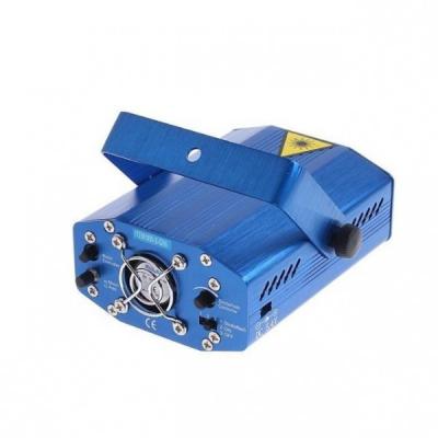 Laser Proiector Puncte Jocuri de Lumini Rosu Verde Senzor Sunet YX09