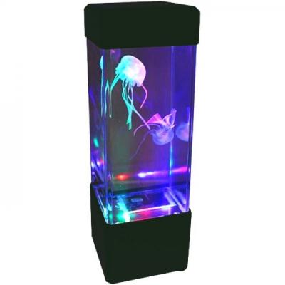 Lava Lamp Lampa Decorativa cu Efect Meduze 23x7cm Alimentare USB