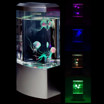 Lava Lamp Lampa Decorativa cu Efect Meduze 27x12x6cm Alimentare USB