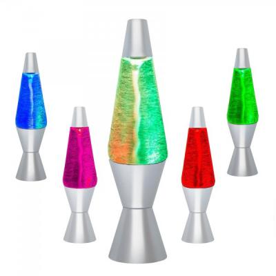 Lava Lamp Lampa Decorativa Efect Tornada Multicolor 32cm pe Baterii