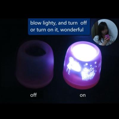 Lumanare Electrica LED cu Senzor Suflat Q8