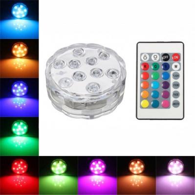 Lampa Lumini Ambientale LED RGB Plutitoare cu Telecomanda IP44
