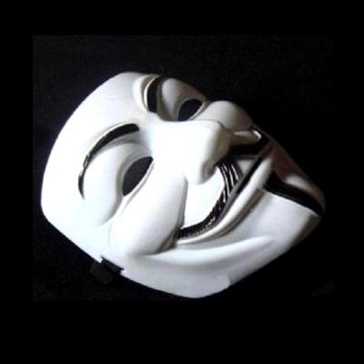 Masca Anonymous, Guy Fawkes, Masca V for Vendetta Alba, Rezistenta