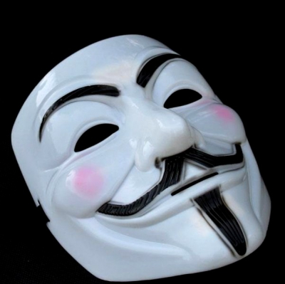 Masca Anonymous, Guy Fawkes, Masti V for Vendetta din Plastic Rezistent