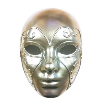 Masca Venetiana de Carnaval Argintie