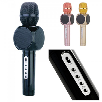Microfon Wireless Karaoke cu Bluetooth si Boxa E103