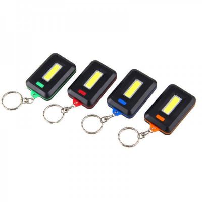 Mini Lanterna Breloc Chei cu COB LED 3W pe Baterii