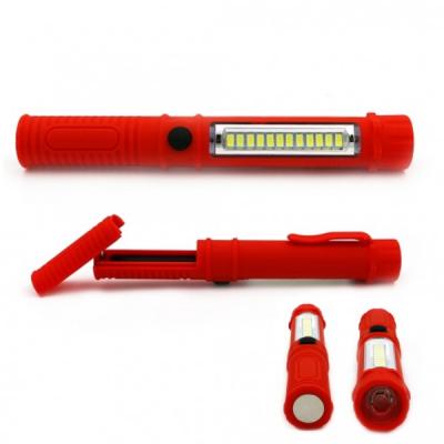 Mini Lanterna Lampa Lucru 12+1LED 3W cu Clips de Prindere si Magnet