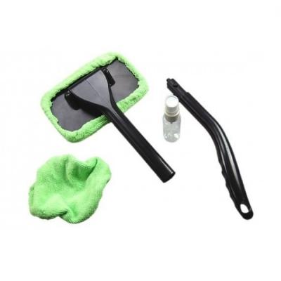 Mini mop microfibra cu maner pentru curatare parbrize ferestre