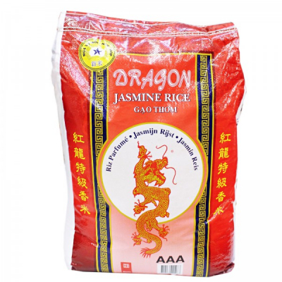 Orez Jasmine 10kg Sac Red Dragon