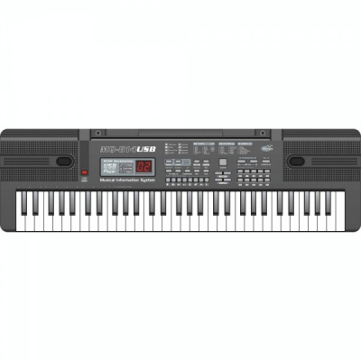 Orga electronica 61 de clape USB MP3 Microfon 65x18x5cm MQ814USB