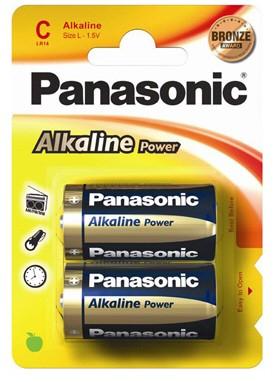 Panasonic baterii lr14 c alkaline bronze 2 buc. la blister