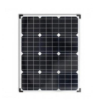 Panou Solar Fotovoltaic 50W 12 Celule 67x54cm Cabluri cu Mufe 12V