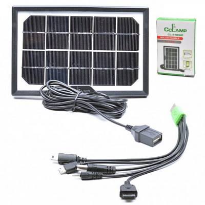 Panou Solar Fotovoltaic Policristalin 1.8W 5V CL518WP 10X16cm
