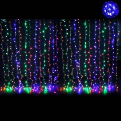 Perdea Luminoasa Craciun 3x1m 120LED 7in1 Multicolor FN IP44 P 8035