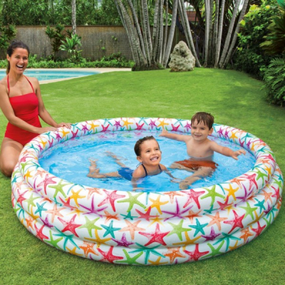 Piscina Gonflabila Rotunda 168x38cm Intex Splash Color 56440