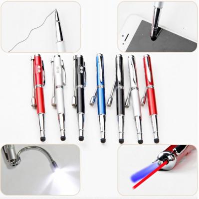 Pix 5in1 cu Laser Pointer, Lumina Uv, Lanterna si Touch Pen