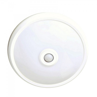 Plafoniera LED 15W cu Senzor de Miscare 30cm Alb Rece
