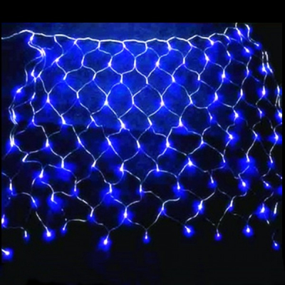 Plasa Luminoasa Craciun 1.5x1.5m 120LED Albastre FI P 6007