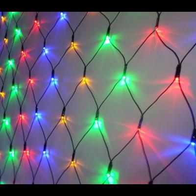 Plasa Luminoasa Craciun 2x2.5m 280LED Multicolor Fir Negru NP