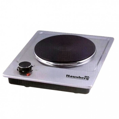 Plita electrica 1Q 185mm Inox 1500W Hausberg HB546