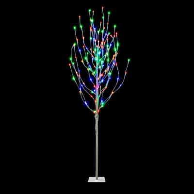 Pomisor Luminos de Craciun 1.7m cu 125LED Multicolore 25 Crengute
