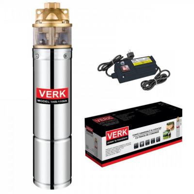 Pompa Submersibila Adancime cu Panou de  Comanda  750W Verk V4S750A