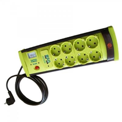 Prelungitor cu Protectie 8 Prize si USB, Cablu 3m, 3x1mm Vipex
