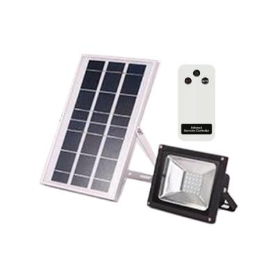 Proiector LED 10W cu Panou Solar si Telecomanda Alb Rece