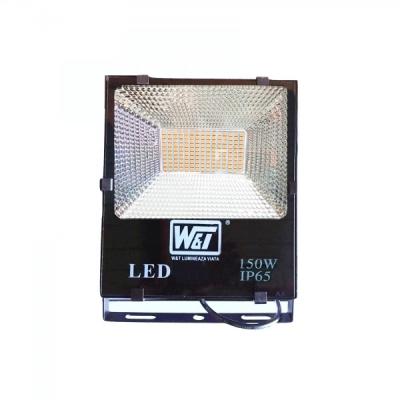 Proiector LED 150W 150LEDuri SMD Alb Cald IP65 220V  80Lm/W WT
