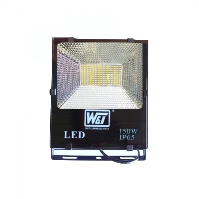 Proiector LED 150W 150LEDuri SMD Alb Rece IP65 220V WT