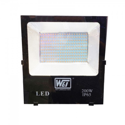 Proiector LED 200W 200LEDuri SMD Alb Cald IP65 220V WT