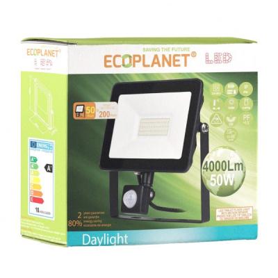 Proiector LED 50W 4000lm 220V 6500K IP65 Clasa A Ecoplanet