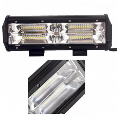 Proiector LED Bar Auto Offroad 48LED 144W 25cm 12V/24V