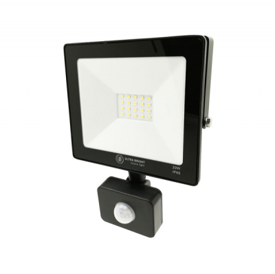 Proiector Multi LED 20W cu Senzor Miscare 6400K IP65 UB60277