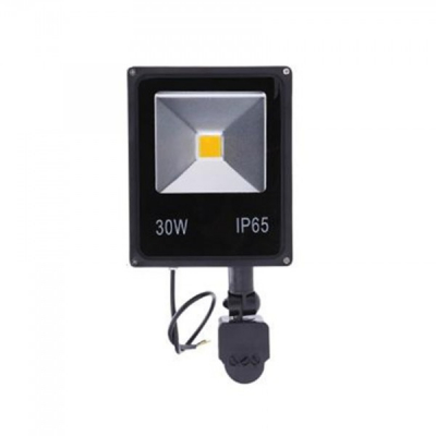 Proiector Slim LED SMD 30W cu Senzor Miscare Alb Rece 220V PS22030