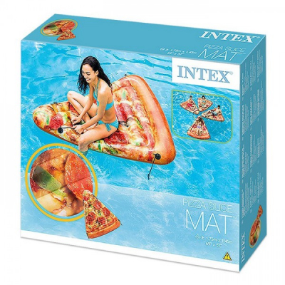 Saltea gonflabila Piscina design Felie Pizza Intex 58752