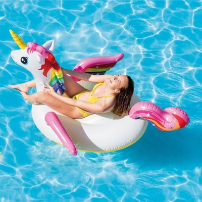 Saltea Piscina Colac Unicorn Intex 57561