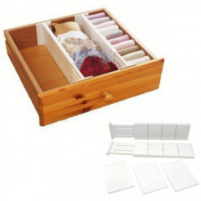Separator Extensibil Organizator Sertare The Expandable Drawer Dividers