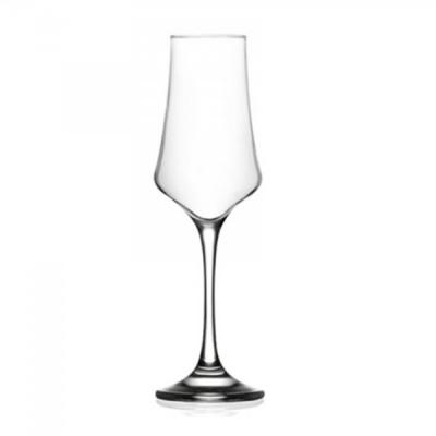 Set 24 Pahare Sticla cu picior 225ml Vin Sampanie Carmen CRM534